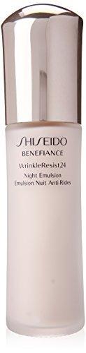 2.5 Ounce Emulsion (Shiseido Benefiance Wrinkle Resist 24 Night Emulsion for Unisex, 2.5 Ounce by Shiseido)