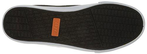 Lugz Mens Domstol Klassiskt Mode Sneaker Svart / Vit