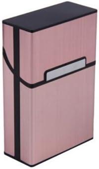 Fhouses Cartuchos de fregado Bolsillo Caja de Cigarrillos Caso del Tabaco del Cigarrillo del Cigarrillo mag Cubiertas para cigarros (Pink): Amazon.es: Hogar