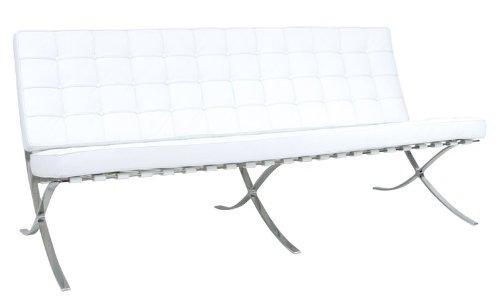 RetroMod Pavilion Sofa, White