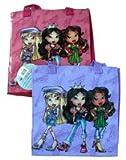Fashion Girls Bratz Tote Bag (2 pcs set) - Purple & Magenta