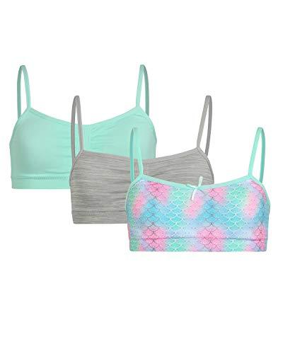 Sweet & Sassy Girls' Seamless Training Bra with Removable Padding (3 Pack)