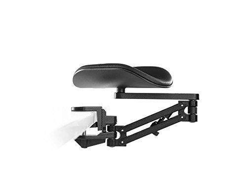 ErgoRest - 330-016-BK - ErgoRest Articulating Arm Support - Black - Long Arm, Long Pad by ErgoRest