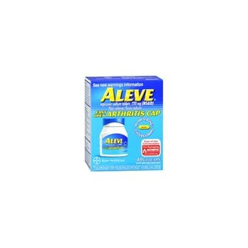 Amazon Com Aleve Aleve Arthritis Gel Caps 40 Gel Caps