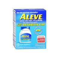 Aleve Aleve Arthritis Gel Caps, 40 Gel Caps 220 mg(Pack of 3) by Aleve