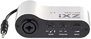 Tascam iXZ Microphone and Instrument Audio Interface for iOS Mobile Devices, iPhone, iPod, and iPad #3