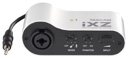 Tascam iXZ Micrófono e interfaz de audio para instrumento...