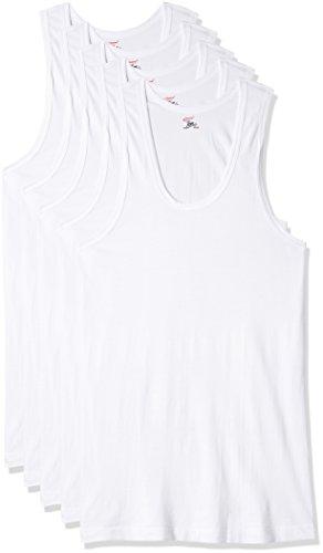 Rupa Jon Men's Cotton Vest (Pack of 5)