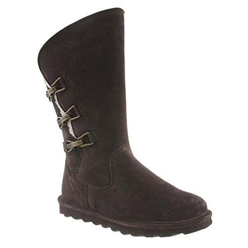 BEARPAW Women's Jenna Boot Chocolate II Size 9 B(M) US