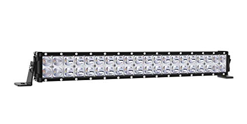 - Autofeel LED Light Bar, Amber and White Dual Color 20 inch 15000LM 8000K Spot and Flood Beam Combo Dual Row Light Off Road Fog & Driving Light Bars for Jeep Ford Trucks Boat, 1 Year Warranty