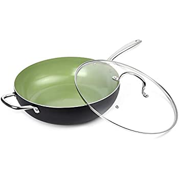Amazon Com Michelangelo 13 5 Inch Woks And Stir Fry Pans