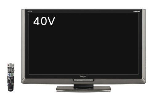 シャープ 40V型 液晶 テレビ AQUOS LC-40LX1 フルハイビジョン   2009年モデル   B002SVZE7S