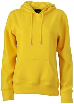 TALLA M. James & Nicholson Sweatshirt Ladies Hooded Sweat Sudadera para Mujer