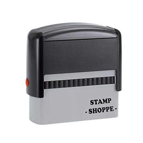 2 Line Custom Trodat Stamp| Grey Stamp | Self Inking, 4913, 2.3x0.81 Inch Rectangular Prints (Custom Stamp)
