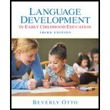 Language Development in Early Childhood (3rd, 10) by Otto, Beverly W [Paperback (2009)]