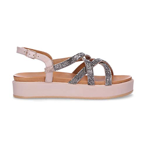 Inuovo Luxury Fashion Womens 112009G Pink Sandals | Spring Summer 19