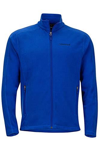Marmot Ess Tech Jacket Full Zip Fleece Jacket, Variety (L, Blue) (Marmot Fleece Jacket)