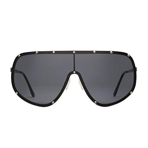 - Perverse Sunglasses Final Frontier Super Oversized, Black, Size One Size Fjpj