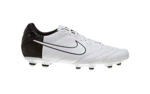 Nike Tiempo Mystic Iv Fg Big Kids 454309 Bianco / Bianco-nero