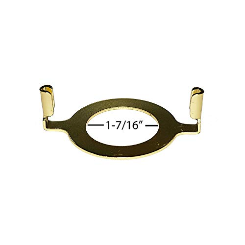 Harp Saddle Adapter for Standard E-26 Phenolic Sockets by Milton Douglas Lamp Co. Slips 1-7/16
