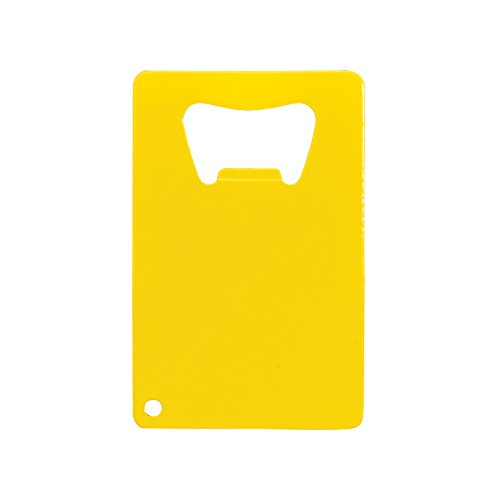 Thirsty Rhino Javan Credit Card Bottle Opener (Yellow)