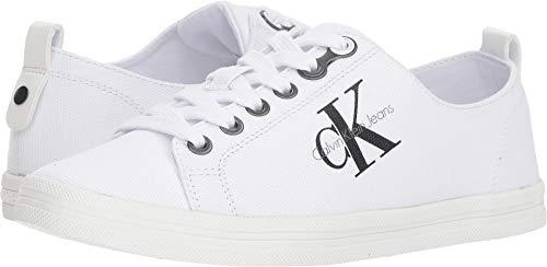 Calvin Klein Jeans Women's Monna White 8.5 M US M