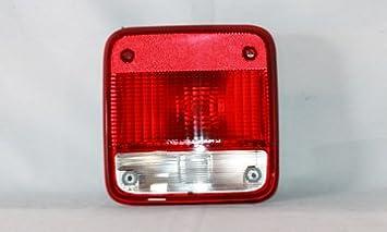 Tail Light Assembly Right TYC 11-5295-01