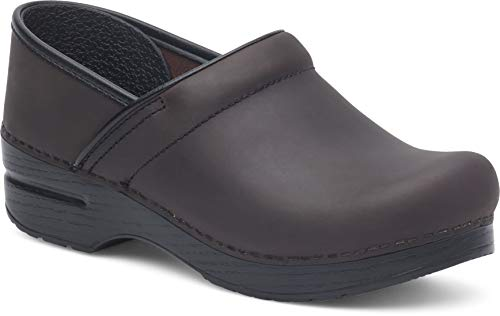 Dansko Women's Professional Antique Brown/Blk Clog 6.5-7 M US