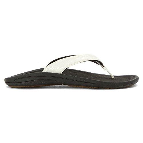 Bianco Nero Kulapa donna Kai OluKai sandali qfFYan1S