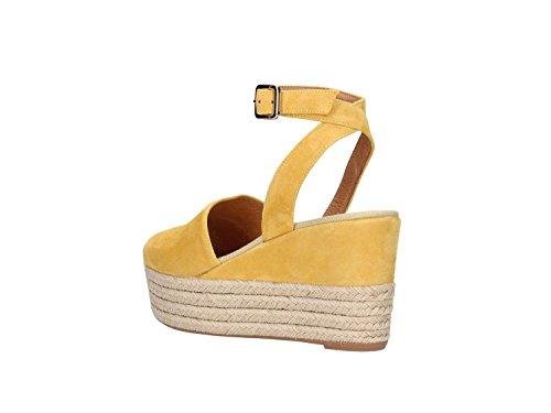 FRAU - Sandalias de vestir para mujer amarillo