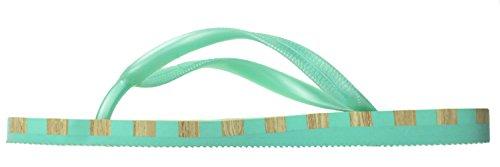 Capelli New York Dames Flip Flop Met Stud En Gestreepte Zool Mint