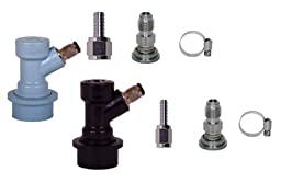 6831 Sanke Tap to Homebrew Conversion Kit, Ball Lock Disconnects Multi