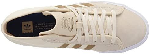 adidas Originals Men's Matchcourt High RX Running Shoe, Linen/raw Desert/Ecru Tint, 10 M US