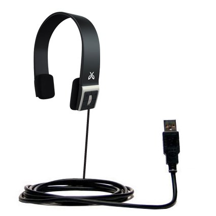 USB Data Hot Sync Straight Cable for the Jaybird Sportsband SB1 with Charge Function – Two functions in one unique Gomadic TipExchange enabled cable by Gomadic