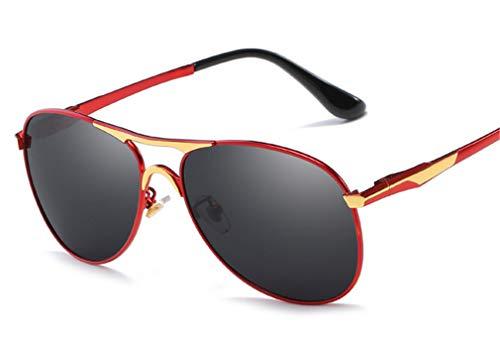 Les pour métal Conduite Miroir Light en Les de Grenouille léger et High vintagePolarized Ultra de Style de Hommes Miroir Brown Red Femmes XIYANG de wR4axqC8q