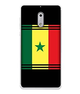 ColorKing Football Senegal 06 Multicolor shell case cover for Nokia 6