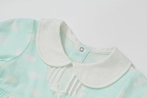 34e0bfc7c1b54 iTimes Baby ベビー肌着 新生児服 オーガニックコットン100% ふんわり柔らかい肌触り 出産祝い 贈り物