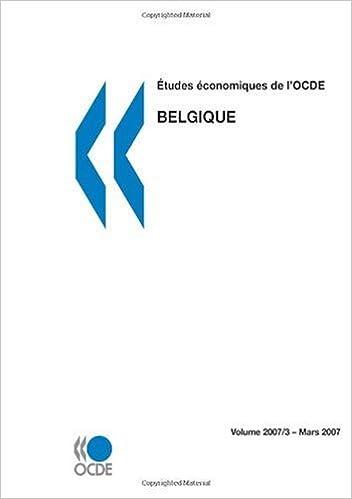 Livre gratuits Études économiques de l'OCDE : Belgique 2007: Edition 2007 epub, pdf