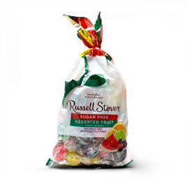 Russell Stover Sugar Free Assorted Fruit Hard Candies, 12 oz. Bag