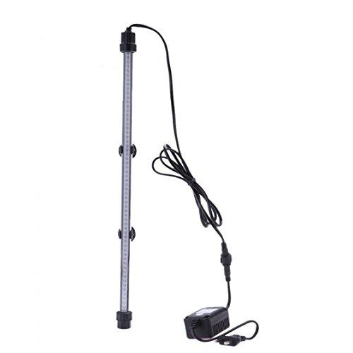 Kingzer 60 LED 48cm Aquarium Bright Submersible Lamp Light Bar for Fish Tank Lighting Decoration Accesory 110-240V