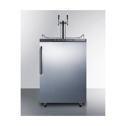 Summit SBC635MSSTBTWIN Wine Dispenser, Stainless-Steel