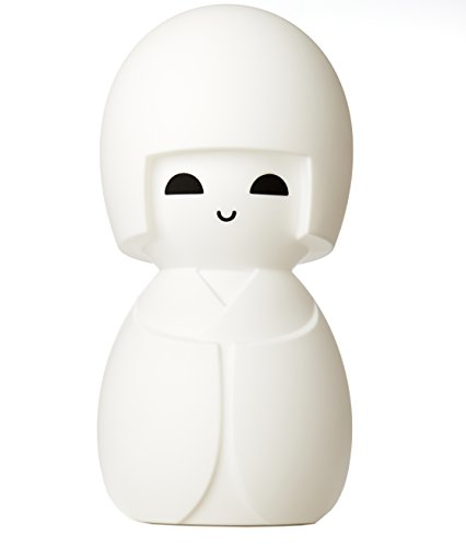 (White LED Dimmable Kokeshi Japanise Doll Lamp with Dimmer, 24