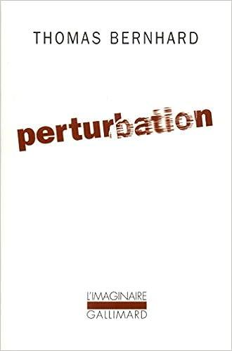 En ligne téléchargement Perturbation pdf epub