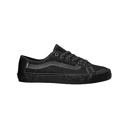 outlet Vans Black Ball SF (Black/Black) Men's Skate Shoes