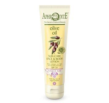 Aphrodite Olive Oil Sun Care for Babies & Children SPF 50 150ml