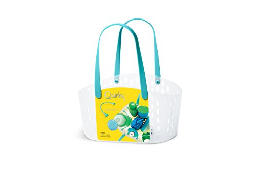 Quirky Cargo Shower Caddies, Turquoise