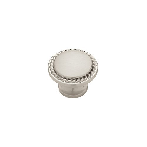 Liberty PN0293-SN-C 30mm Rope Edged Cabinet Hardware Knob by Liberty ()