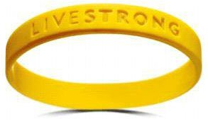 Official Live Strong Lance Armstrong Wristband YOUTH size