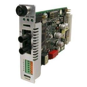 Transition Networks CRS4F3214-100 Terminal Block Media Converter by Transition Networks