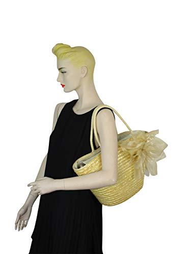 naturaleza Beige mujer Lona collezione Bolso al hombro alessandro única Talla de para ZZgCxAW